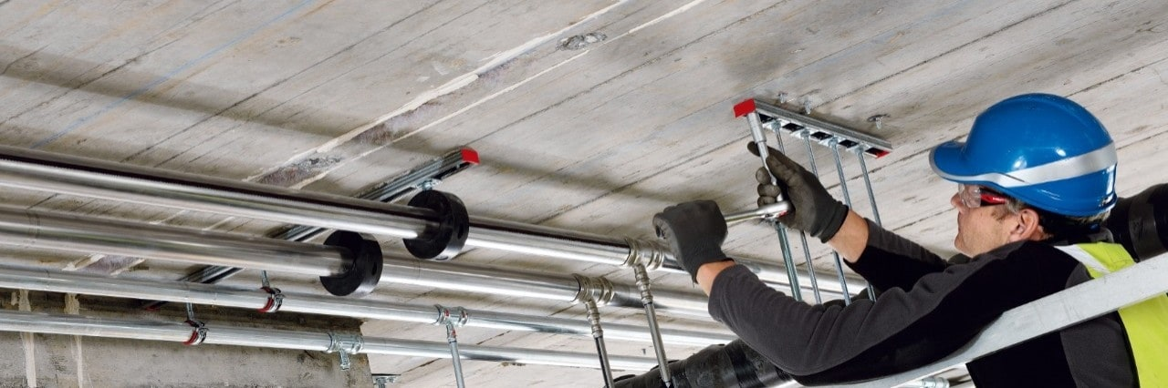 Hilti MI modular support system for heavy duty applications