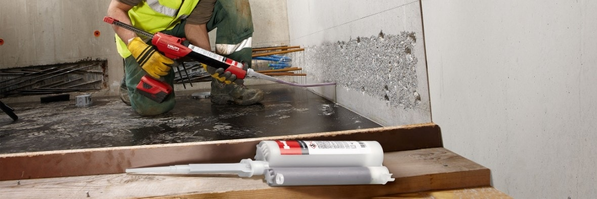 Hilti HIT-RE 10 injectable mortar system